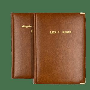 Agenda Legale LEX 1 due volumi – 2022
