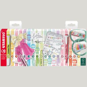 Multipack Evidenziatori STABILO Fashion Designer x18 pz.