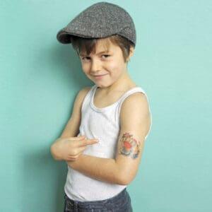 Stampa tatuaggio temporaneo personalizzato